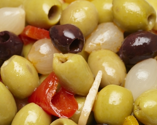 Pitted Spanish Bar Mix Olives