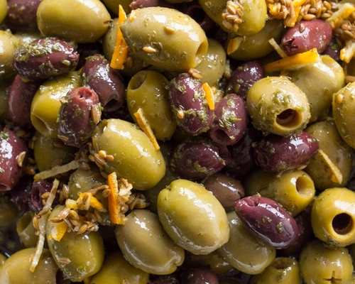 Pitted Siena Olives