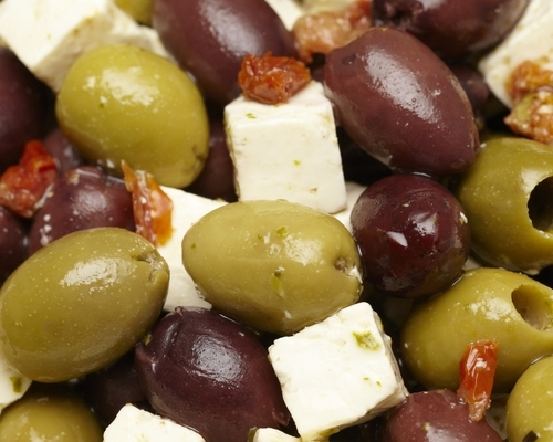 Pitted Olympia Olives