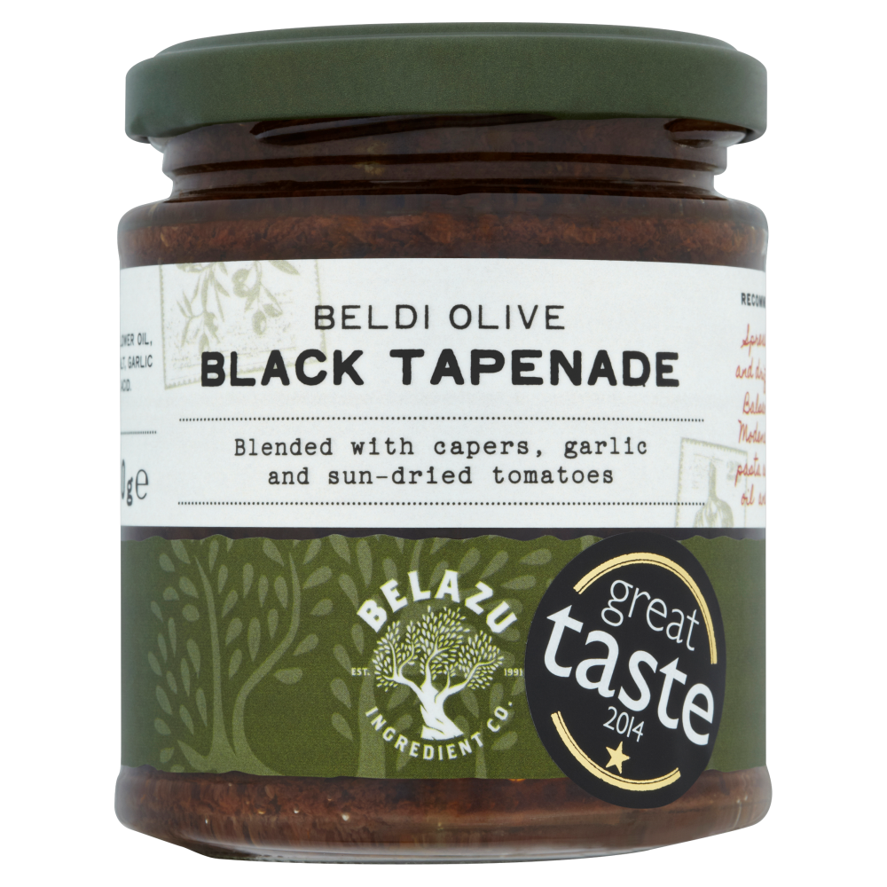 Pestos and Pastes Black Tapenade