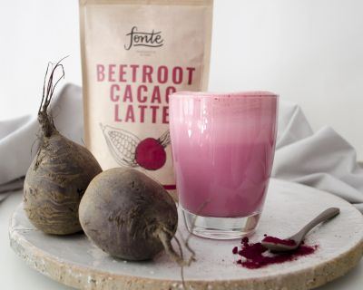 Fonte - Beetroot Cacao Latte