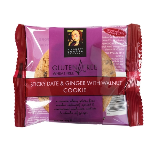 Gluten Free Byron Bay Cookies Sticky Date & Ginger