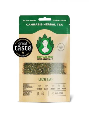 Body and Mind Cannabis Tea - Loose Leaf Tea