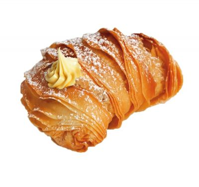 Sicilian Artisan Pastries - New Exciting Indulgent Products! Aragostine filled with Lemon Cream