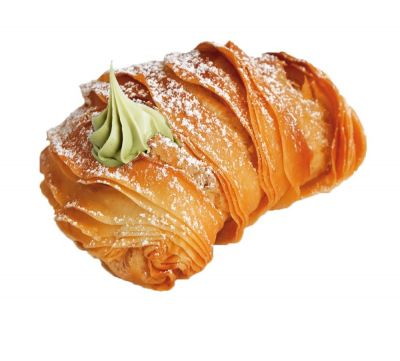 Sicilian Artisan Pastries - New Exciting Indulgent Products! Aragostine filled with Pistachio Cream