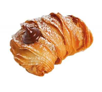 Sicilian Artisan Pastries - New Exciting Indulgent Products! Aragostine filled with Hazelnut Chocolate Cream